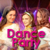 Teen Neon Glow Dance Party
